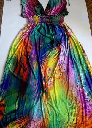 Платье длинное 52 54 размер бюстье sale в пол новое осенние новое
