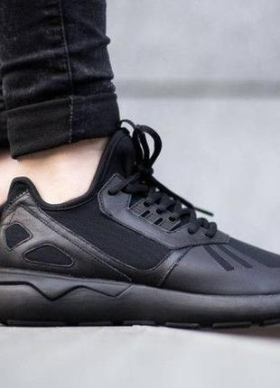 Adidas tubular runner all black