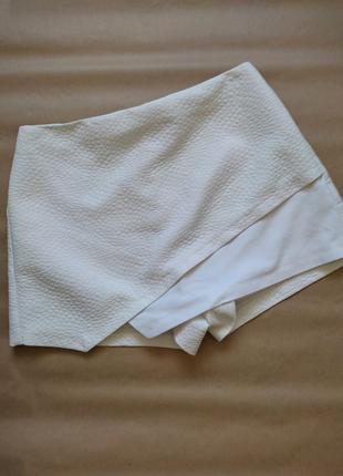 Шорты мини юбка