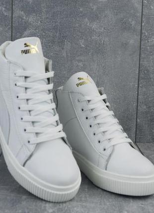 Хит 2020♥️ крутые женские зимние кожаные ботинки