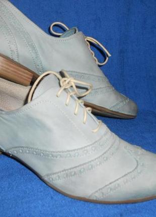 Туфли- оксфорды *marco tozzi* кожа германия р.39 (25.50см)
