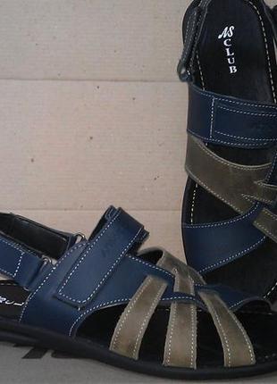 Мужские кожаные босоножки сандалии 40-45