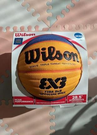 """Баскетбольный мяч Wilson 3x3 Official, размер 6/28.5"""""""