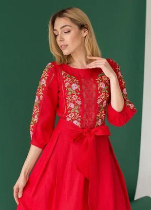 Сукня лляна «Роксолана»