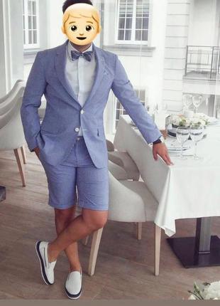 Стильный костюм arber с шортами