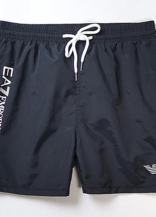 Мужские пляжные шорты (плавки) , разные размеры, цвет черный