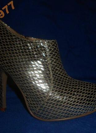 Гламурные ботинки англия р.38 (25.00 см)