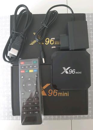 X96 mini мини Смарт приставка 2/16Гб smart box