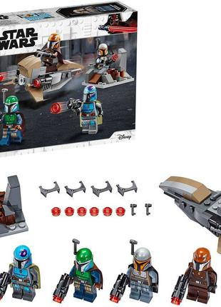 Lego Star Wars (75267) Боевой отряд Мандалорцев