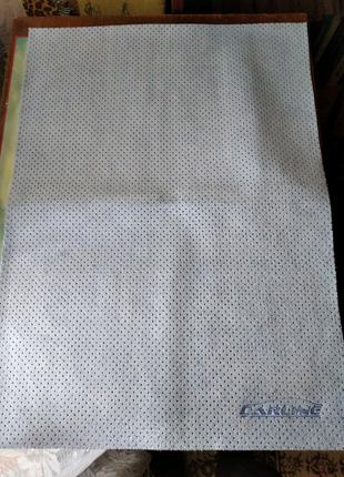 Перфорированная тряпка  53x40 см для мойки авто CARLINE