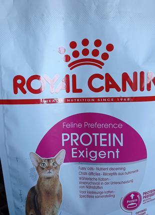 Сухой корм супер премиум Royal Canin Exigent Protein для кошек