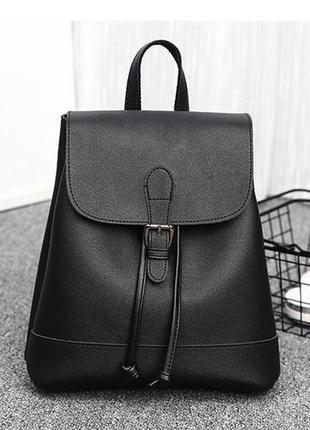 Рюкзак черный городской отличного качества