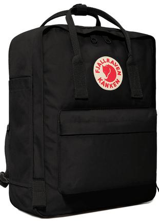 Рюкзак нейлоновый черный kanken