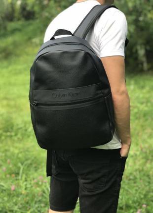 Рюкзак черный мужской кельвин кляйн