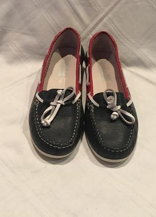 Туфли -мокасины *walkx women* кожа германия р.37
