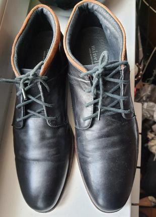 Португальские ботинки minelli 41 р натуральная кожа