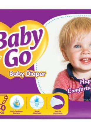 Подгузники Baby Go Junior размер 5 (11-25 кг), 40 шт