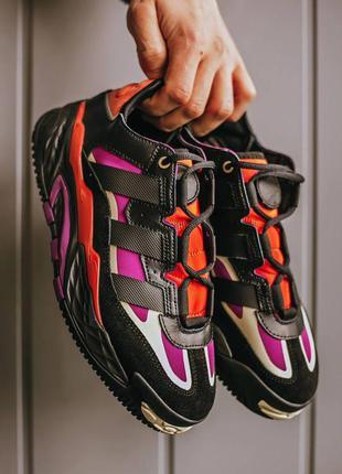 Adidas niteboll power berry, кроссовки адидас