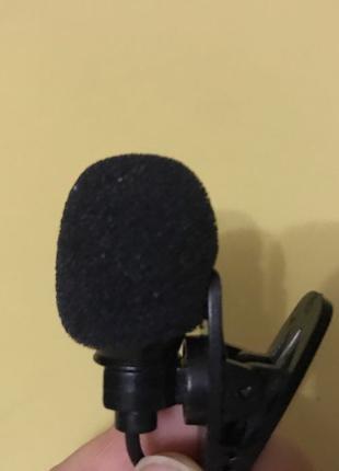 Петличный микрофон (петличка)