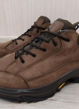 Кожаные треккинговые кроссовки ботинки karrimor waterproof