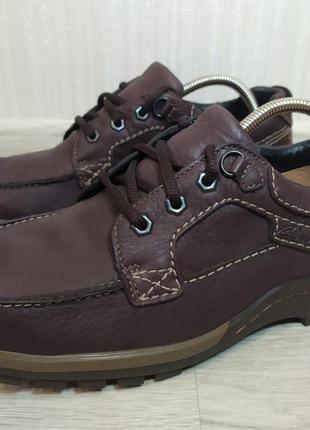 Кожаные кроссовки ботинки clarks gore-tex air active