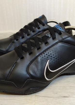Кожаные кроссовки nike air compel