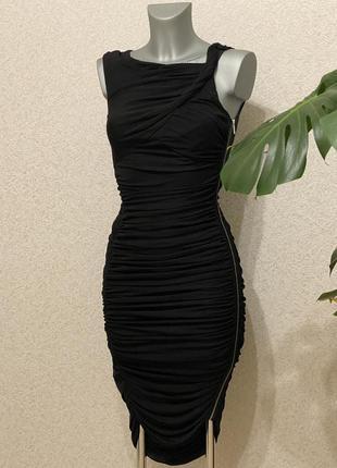Очень красивое коктейльное платье xs-s