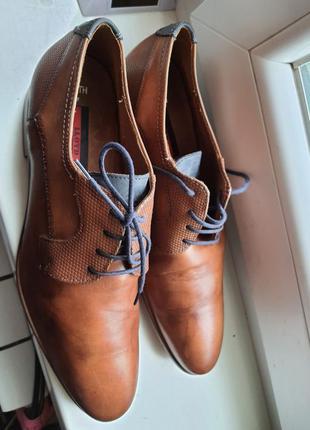 Мужские люкс туфли lloyd 43 р. полностью натуральная кожа