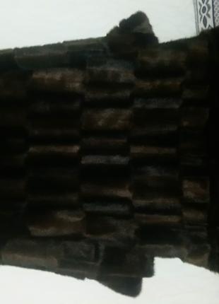 Шуба женская 42/45р.р. ЭКО мех под норку