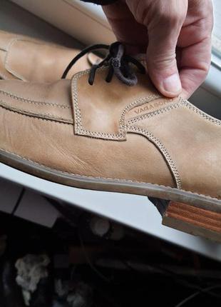 Туфли из натуральной кожи vagabond 44 р.