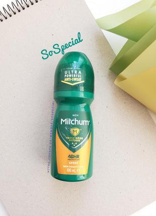 Шариковый антиперспирант дезодорант для мужчин mitchum sport 100