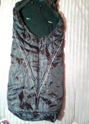 Спальный мешок, чехол в коляску или санки.