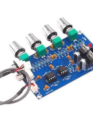 Регулятор тембра NE5532 стерео предусилитель преамп темброблок
