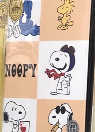 Чехол Slim Case iPad 2/3/4 Snoopy с героем мультфильма