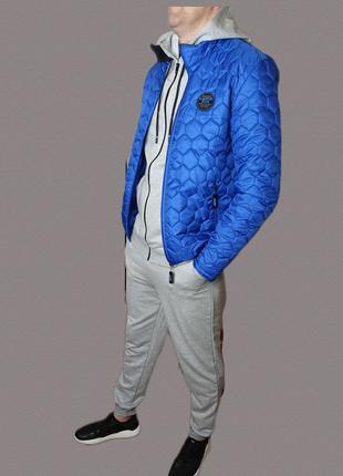 Хит весны!мужская весенняя куртка бомбер ветровка худи