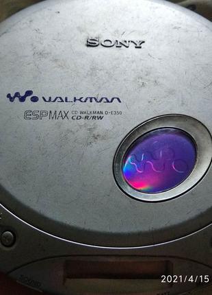 Sony d-e 350 Walkman