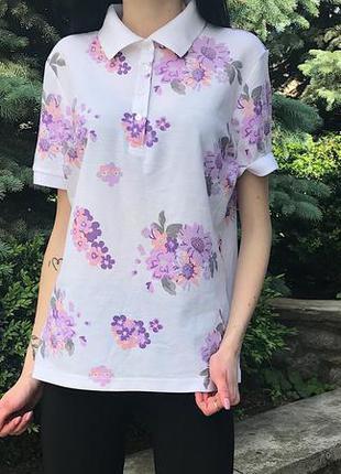 Женская футболка поло damart