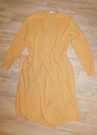 Вязанный кардиган - пальто