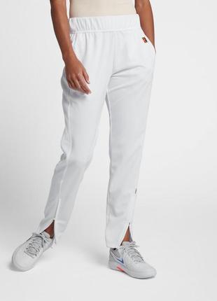 Брюки nike в спорт стиле \спортивныеи белоснежные штаны\р.l-xl