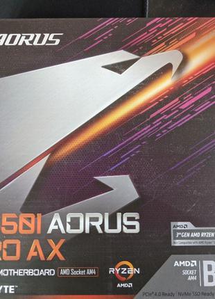 Mini-ITX материнская плата Gigabyte - AORUS B550i PRO AX