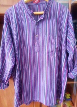 Супер легкая туника/рубашка из коттона coline непал