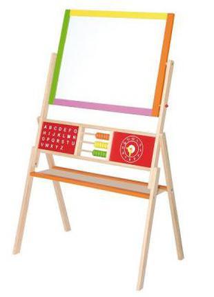 Набор для творчества магнитная доска,мольберт,набор для рисования