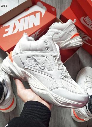 Nike m2k tekno white, мужские✳️зимние✳️кроссовки найк