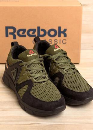 Мужские  летние кроссовки reebok из натуральной замши(40-45р)