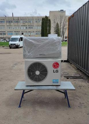 Кондиционер картина LG Artcool MA18LHM до 50м2, настенный, бу ...