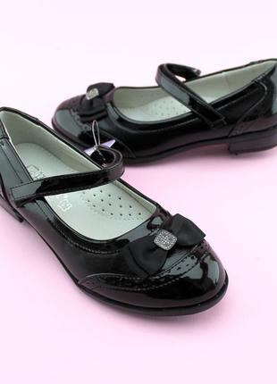 Туфли для девочки с бантом тм том.м