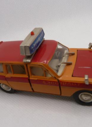 "Модель автомобиля ГАЗ-2402 ""Аэрофлот"". А23 Агат. Масштаб 1:43."