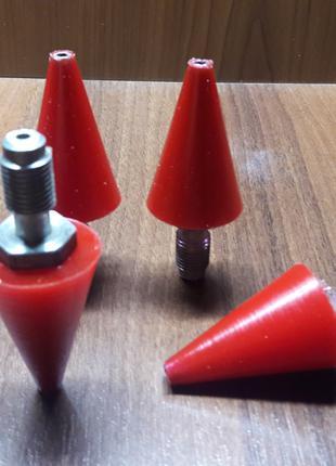 Нанесення поліуретану на штуцер (D6/30*d5*45 мм)