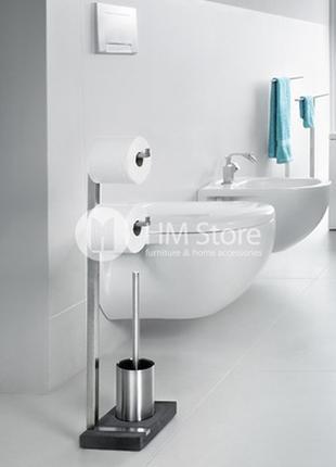 Стойка для ванной комнаты из нержавеющей стали Blomus Menoto