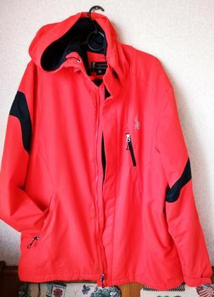 Spyder красная спортивная лыжная куртка р 56